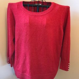 Loft Plus Red Top size 16/18